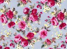 پارچه تریکو گلدار