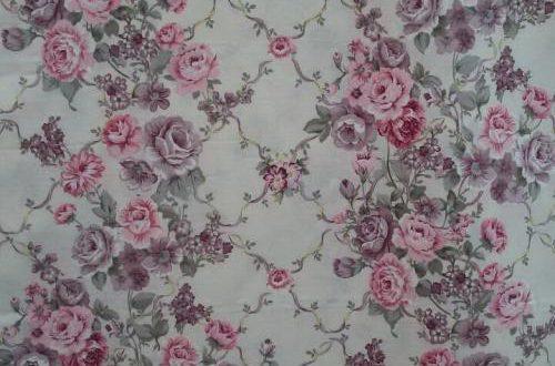 پارچه ی تریکو گلدار